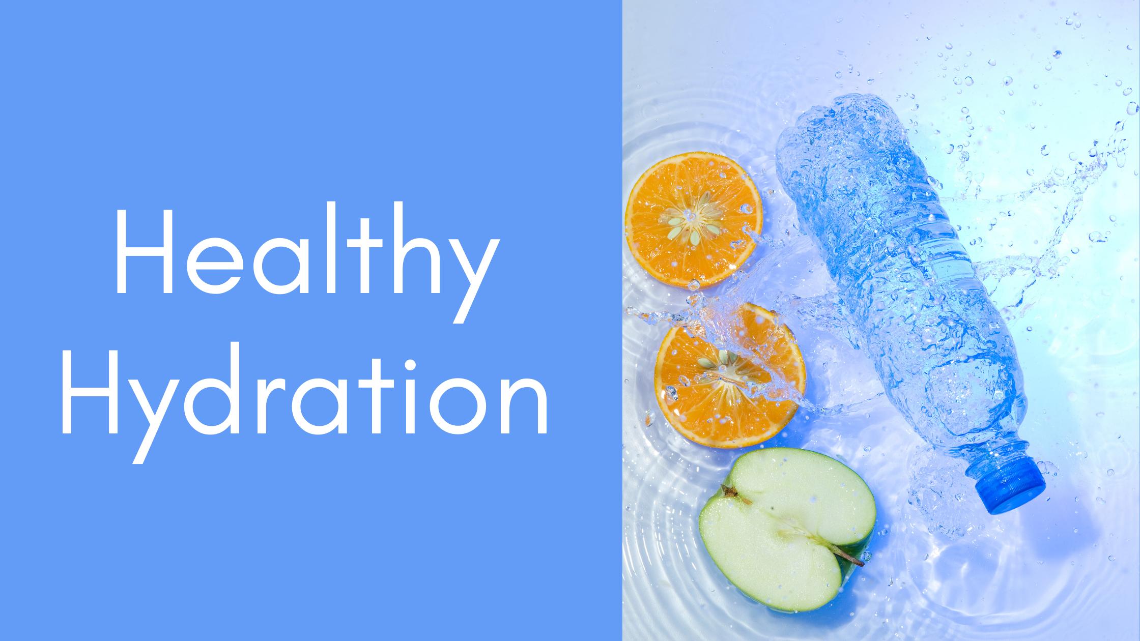 Sweetly Balanced Healthy Hydration