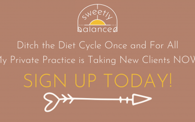 Ditch the Diet Cycle Once and For All-Work With Me NOW!